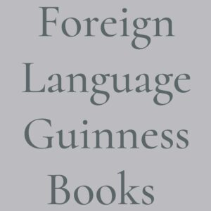 Foreign Language Guinness Books