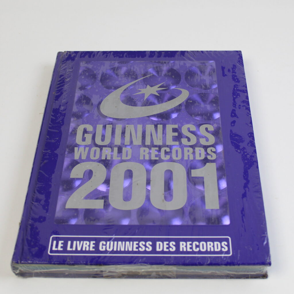 Foreign Language Edition Guinness Book