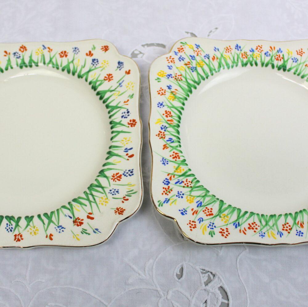 Vintage Serving Plates.