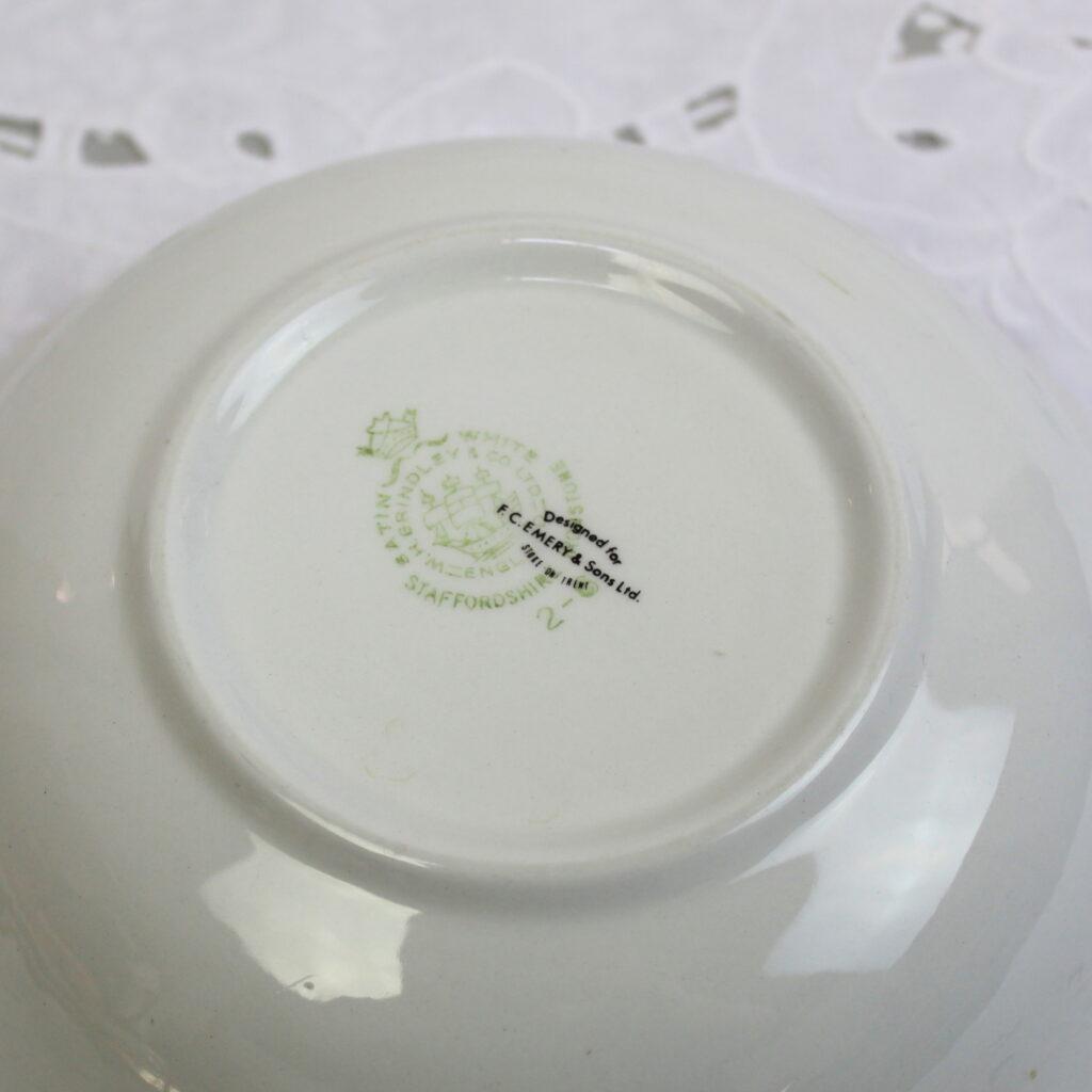 Satin White Ironstone Bowl