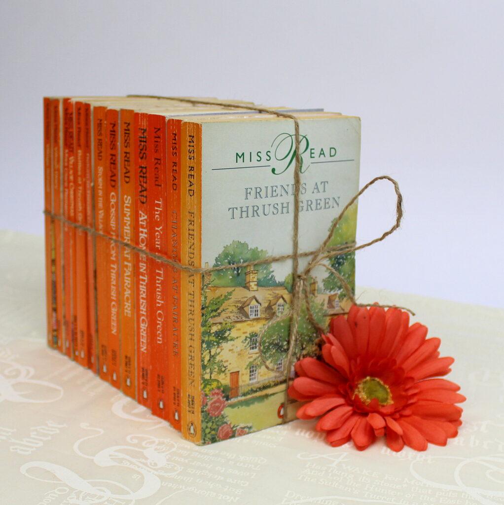 Vintage Orange Paperbacks